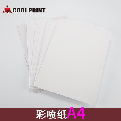 Color spray paper A4 printing color cup paper color paper effect good baking paper transfer paper A4 paper heat transfer paper