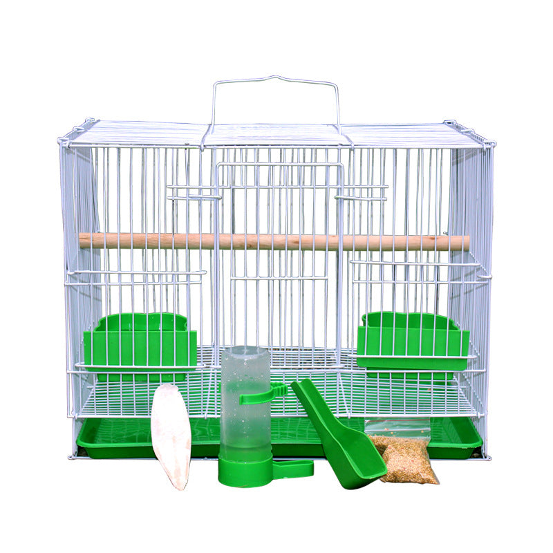 Spotted bird cage large thrush tiger parrot ostrich cage pigeon cage breeding cage starling bird cage extra large