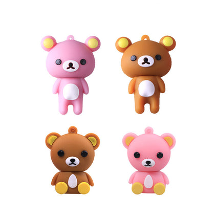Cartoon robot cat U disk 2.0 / 3.0 USB flash drive tender gift 16g / 32g easy bear