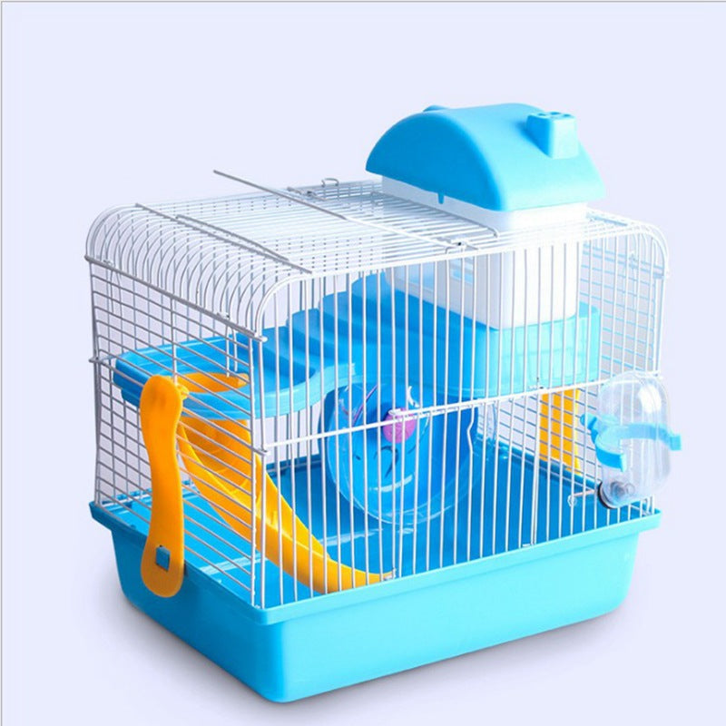 Factory Outlet Hamster Cage Hamster Villa Big Castle Hamster Cage Double Villa Supplies Toys Three Colors Optional