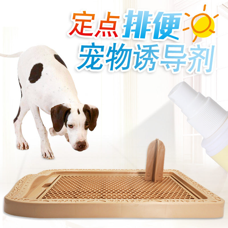 Dog toilet inducer family positioning fixed-point defecation peeing urination urination training dog pet guide liquid