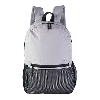 Folding backpack custom logo DuPont paper ultra-light outdoor sports bag men and women portable casual waterproof backpack
