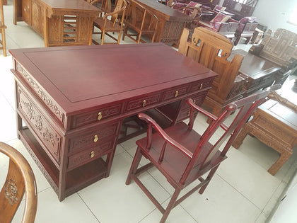 Northern old elm classical Chinese antique desk and chair factory direct sales