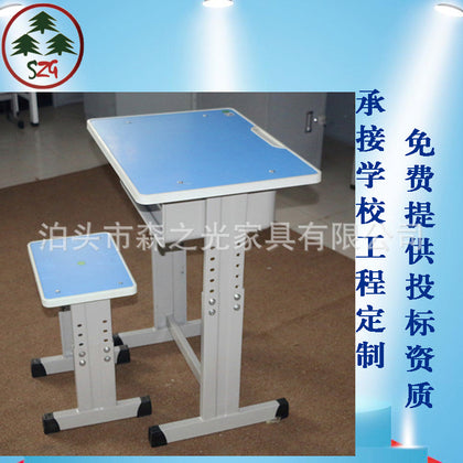 Student desks and chairs School desks and chairs Single desks and chairs Student desks factory direct sales