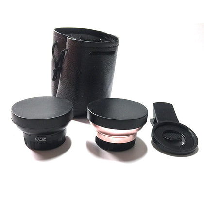 0.45x wide-angle lens +12.5x macro 2-in-1 super wide-angle wide-angle lens factory direct