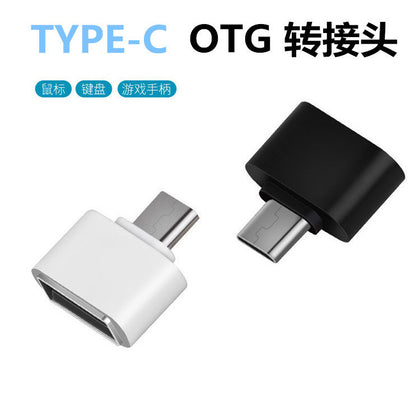 Mobile phone OTG Android type-c-otg adapter USB to micro USB to Android V8 on sale