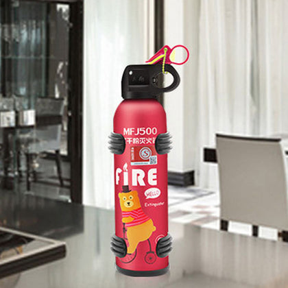 David car car fire extinguisher car home portable small dry powder 600g fire extinguisher portable