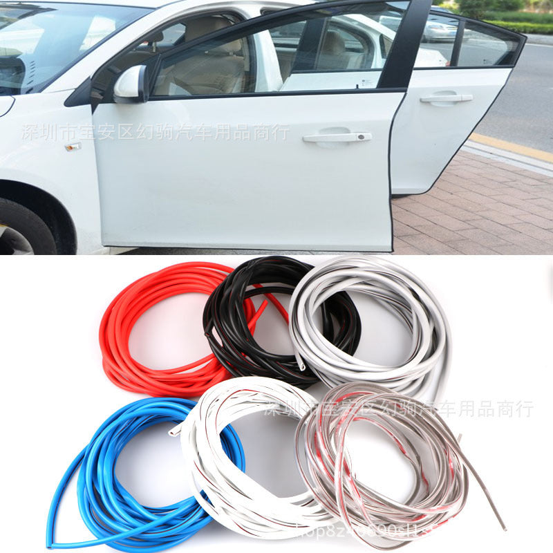 Car anti-collision strip door edge sealing strip stealth anti-collision strip scratch-resistant strip body anti-scratch protection stickers decorative strip