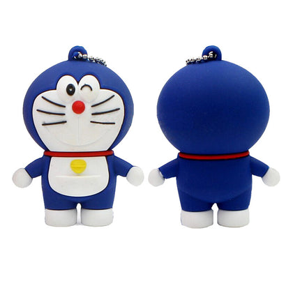 Cartoon robot cat U disk 2.0 / 3.0 USB flash drive bidding gift USB flash drive robot cat bidding special