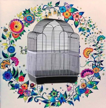 Mesh bird cage cover Thrush starling bachelor gauze cage large and medium trumpet