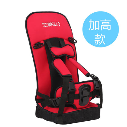 Factory direct children's car seat cushion portable baby car seat Simple car car seat