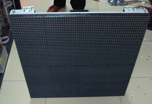 P10 outdoor display die-casting box body portable LED full color monochrome HD display box