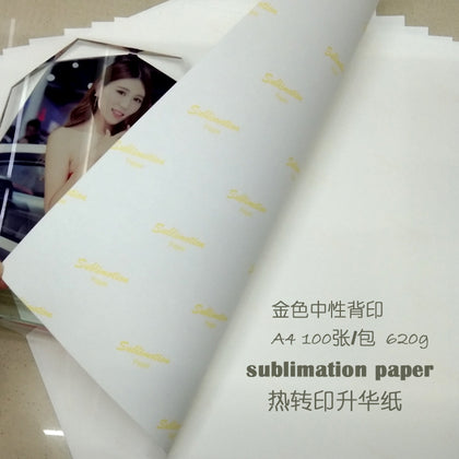 A4 thermal transfer paper inkjet paper sublimation paper non-cotton chemical fiber ceramic metal glass transfer paper