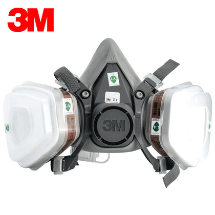 3M mask 6200 with 2091 industrial dust dust mask welding smoke glass fiber polishing