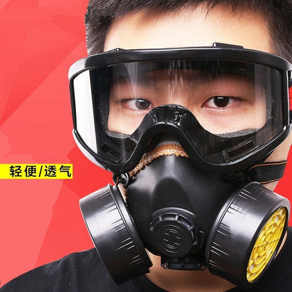 Respiratory protective masks face masks dust-proof eye protection. Dust with glasses industry