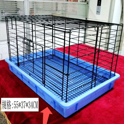 Collapsible rabbit cage lop eared rabbit small dog Dutch pig guinea pig Xi Shi Taidijiwa Bomei bamboo squirrel cage culture cage