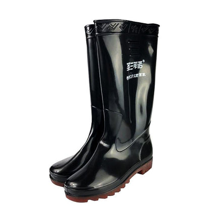 819 work rain boots anti-chemical safety boots wear waterproof work rain boots non-slip boots