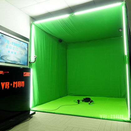VRMAN cube MR map VIVE mixed reality VR photography green screen image like valve index