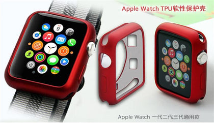 Factory direct sales for Apple Watch iwatch fuel injection TPU protective cover for Apple watch soft case