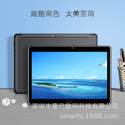 Naked eye 3D MTK X20 10 core Android 8.1 G+G TP 4G LTE 10.1 inch tablet