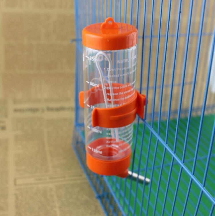 Pet water dispenser 250ml ball-type rabbit hamster chinchillas drinking fountain dog cat pet small pet bottle