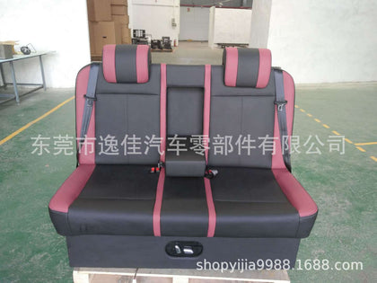 Custom-made business car back three people Electric three-person sofa bed Car seat Truck seat