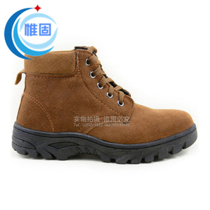 Factory direct new anti-smashing anti-piercing safety shoes breathable insulation labor insurance shoes foot protection wholesale work shoes