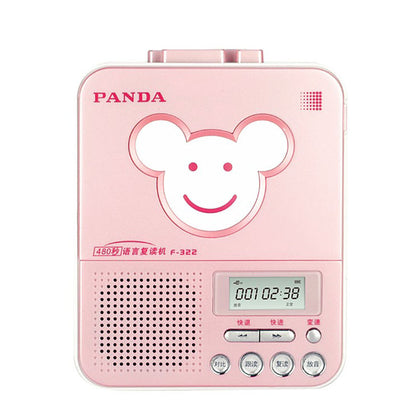 Panda F-322 tape repeater student portable English learning machine cassette recording player Walkman