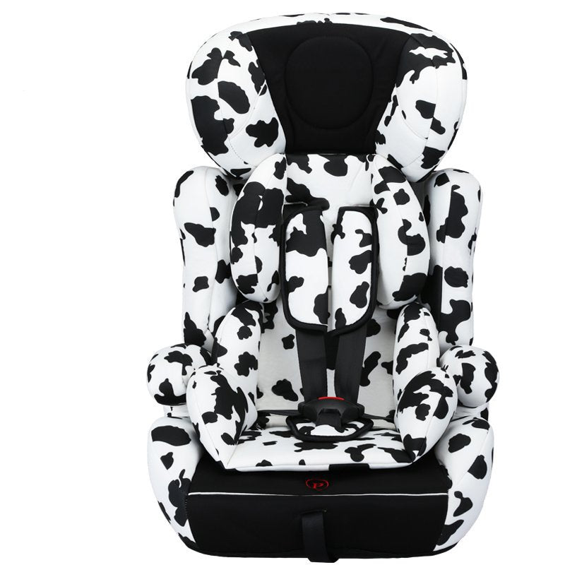 Child seat car baby baby car simple 9 months 0-2-7 years old 3-12 universal reclining
