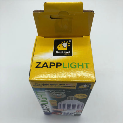 Zapp Light screw head bird cage mosquito killing bulb high power LED energy saving lamp mosquito killer