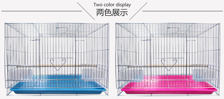 Electroplated galvanized starling cousin parrot bird cage breeding breeding cage export manufacturer pet cage parrot supplies