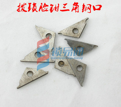Auto repair dial lock face pliers tool steel mouth triangle block