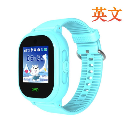 English Russian DS05 Children's Smart Watch Waterproof GPS Positioning Camera Phone Mobile Wear Factory Direct