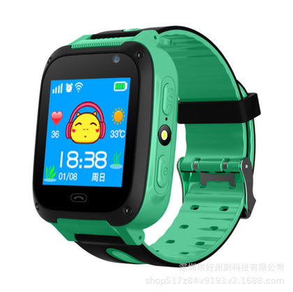 New creative four 4 generation children's smart watch GPS smart wear positioning HD touch screen children's phone watch