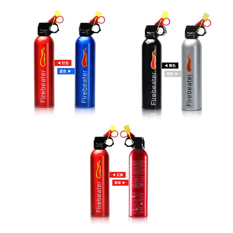 A product quality small fire dry powder fire extinguisher portable car fire extinguisher car fire extinguisher household 500g
