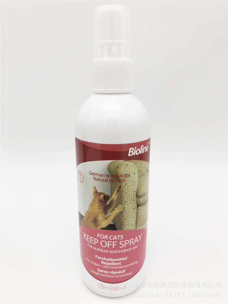 11 get 1 Bioline bio chain cat repellent 175ml cat cleaning supplies