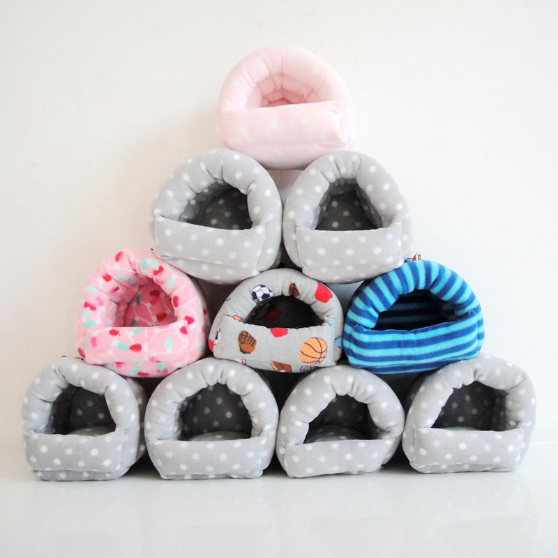 A generation of four seasons hamster squirrel nest squirrel big eyes squirrel honey bag 鼯 hanging sling small pet supplies
