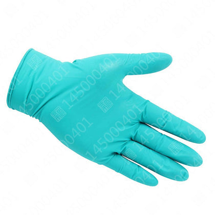 Ansell Ansell 92 600 green universal disposable nitrile anti-chemical test chemical protective gloves