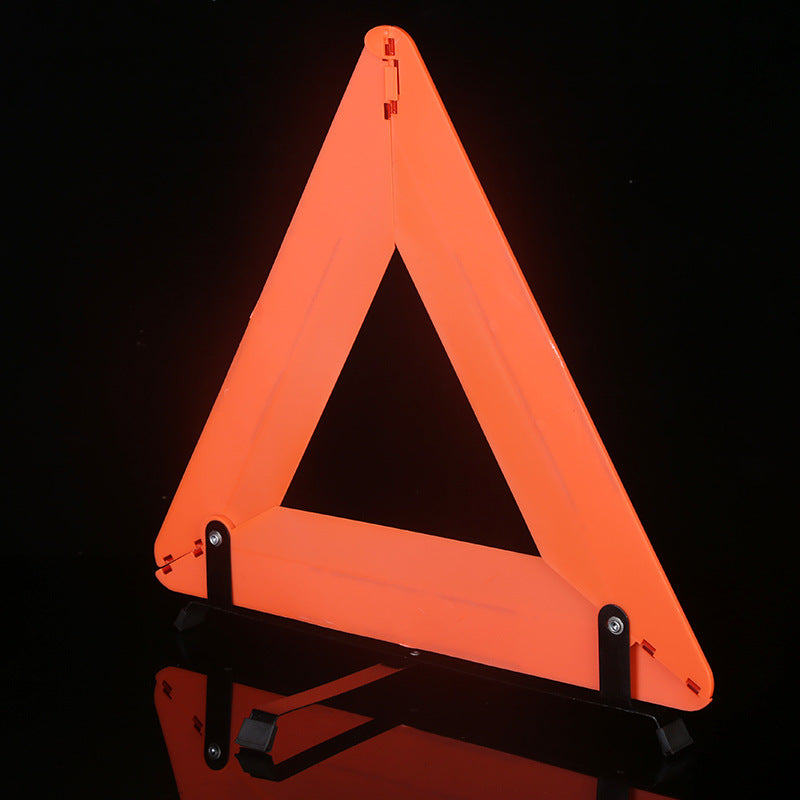 Stock supply red box(National standard)Tripod warning sign collapsible triangle warning frame reflective warning sign