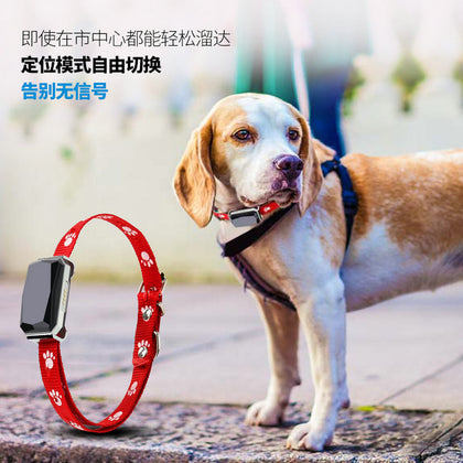 Gps pet tracker pet locator dog anti-lost tracker waterproof and dustproof micro locator