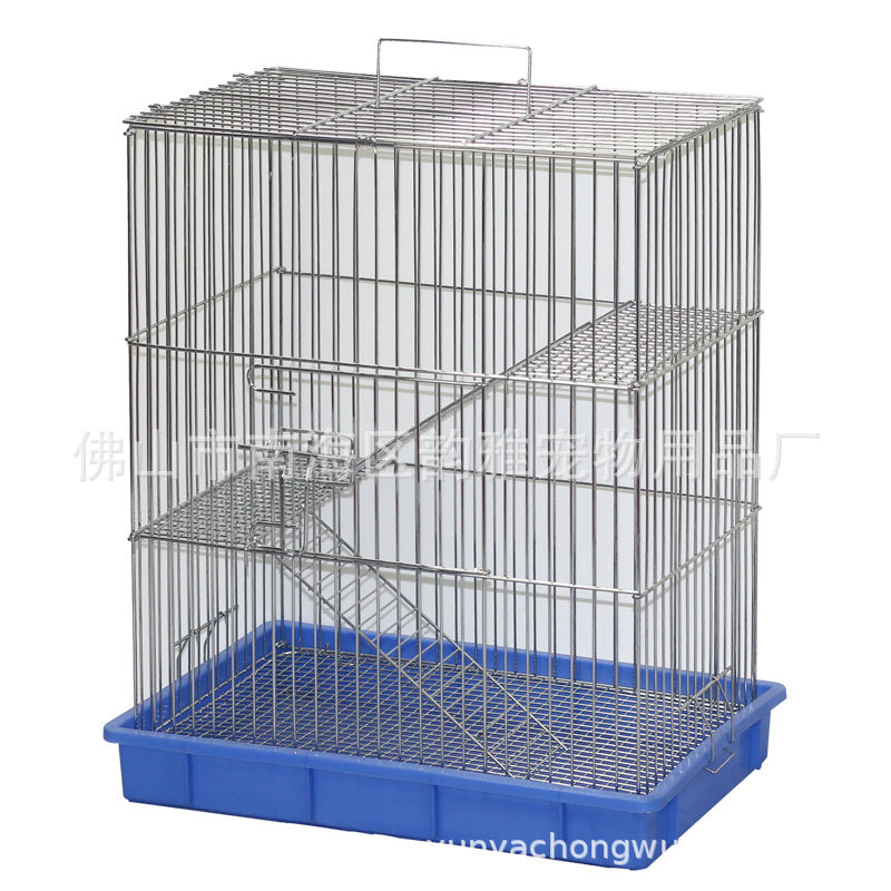 Factory direct custom thorn stomach cage bamboo squirrel cage pet cage three-layer squirrel cage chinchillas cage squirrel cage quality assurance