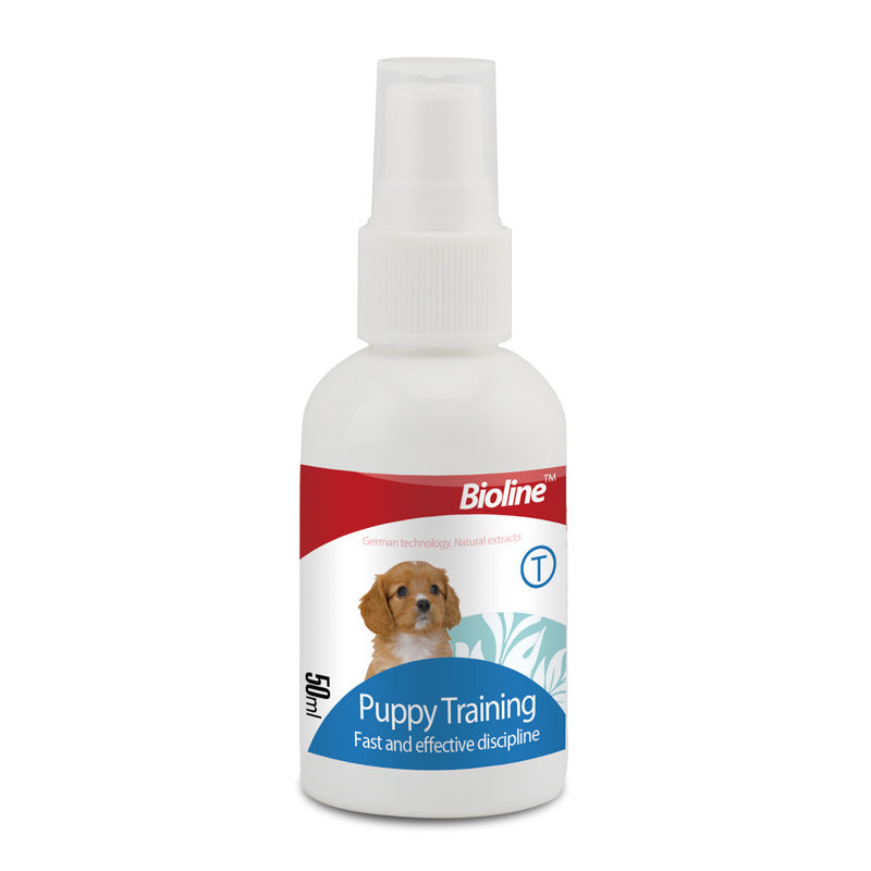 Bioline puppy training agent 50ml defecation induced spray pet inducer OEM processing OEM