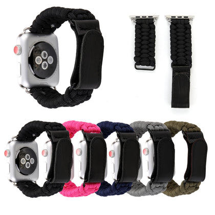 Applicable Apple Watch4 Velcro Umbrella Rope Strap Apple Watch iwatch Outdoor Umbrella Rope Strap Hot