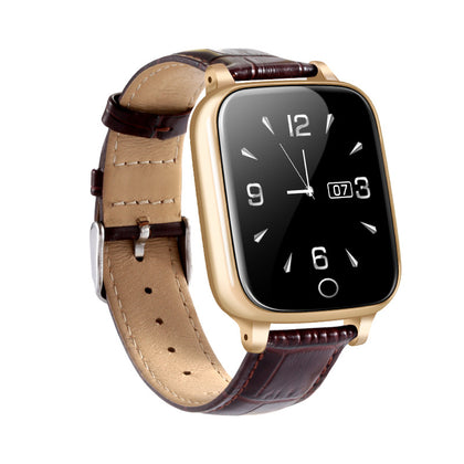 GPS+WIFI Elderly Health Smart Positioning Watch Blood Pressure Heart Rate Monitoring Large Battery Waterproof Phone Watch