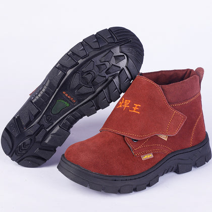 Supply direct supply labor insurance shoes, fur, leather, electric welding shoes, anti-mite, anti-scalding, fire-proof, steel, toe cap, work safety shoes