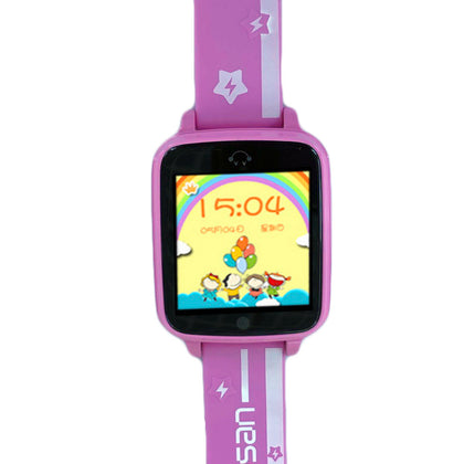 W400 4G children's phone watch GPSWIFI five-fold student touch screen card video call watch
