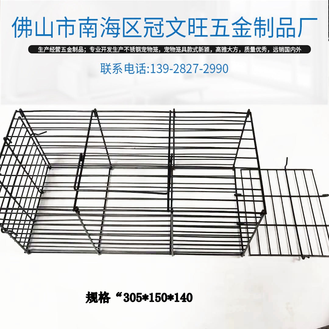 New portable folding transport cage bamboo rat transport cage squirrel transport cage all kinds of small pet transport cage
