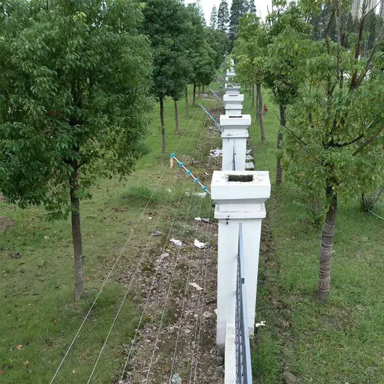 Jiaxing Haining wall anti-theft power grid High-quality pulse electronic fence preferred Tuotian manufacturers warranty worry-free