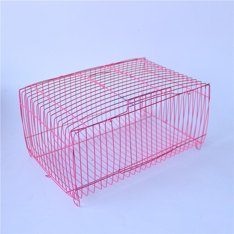 Large transport cage pet cage wire cage rabbit cage guinea pig cage bird cage pigeon cage squirrel cage hamster cage