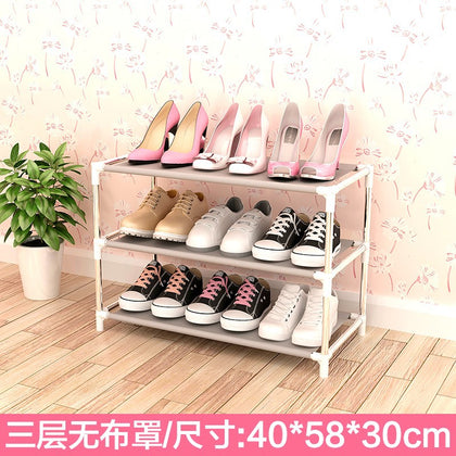 3-layer shoe rack without cloth